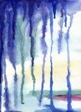 αφηρημένο χρωματισμένο ανα& ελεύθερη απεικόνιση δικαιώματος