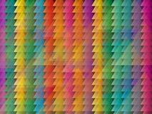 Αφηρημένο χρωματισμένο τρίγωνο υπόβαθρο Στοκ Εικόνες