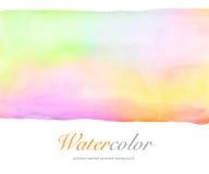 αφηρημένο χρωματισμένο χέρι w Στοκ Εικόνα