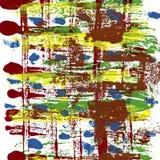 Αφηρημένο χρωματισμένο χέρι watercolor Στοκ φωτογραφία με δικαίωμα ελεύθερης χρήσης