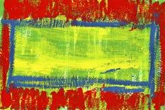 Αφηρημένο χρωματισμένο χέρι watercolor Στοκ Φωτογραφία