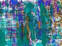 Αφηρημένο χρωματισμένο χέρι watercolor Στοκ Εικόνες