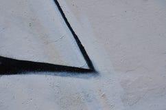 Αφηρημένο χρώμα γκράφιτι Στοκ φωτογραφίες με δικαίωμα ελεύθερης χρήσης