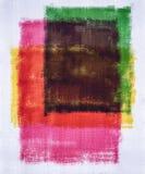 Αφηρημένο χρώμα ζωγραφικής τέχνης Στοκ Φωτογραφίες