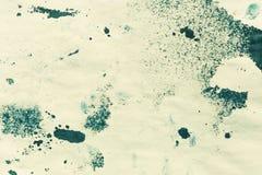 Αφηρημένο χρώμα μελανιού Υπόβαθρο σύστασης μελανιού Splahed Μπλε αφηρημένο σκηνικό ακουαρελών που απεικονίζεται Στοκ Εικόνα