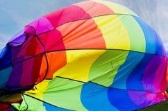 Αφηρημένο χρώμα μπαλονιών ζεστού αέρα Στοκ φωτογραφία με δικαίωμα ελεύθερης χρήσης