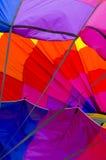 Αφηρημένο χρώμα μπαλονιών ζεστού αέρα Στοκ Φωτογραφίες