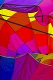 Αφηρημένο χρώμα μπαλονιών ζεστού αέρα Στοκ Φωτογραφία