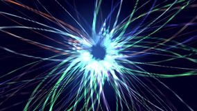 Αφηρημένο χρώμα σχεδίων αλληλεπίδρασης διανυσματική απεικόνιση