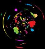 αφηρημένο χρώμα χάους Στοκ εικόνα με δικαίωμα ελεύθερης χρήσης