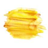 Αφηρημένο χρώμα χεριών τέχνης watercolor Στοκ φωτογραφίες με δικαίωμα ελεύθερης χρήσης