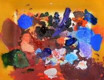 αφηρημένο χρώμα splats Στοκ Εικόνες