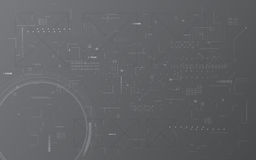 Αφηρημένο ψηφιακό υπόβαθρο έννοιας σχεδίου montage σχεδίων σύστασης υπολογιστών επικοινωνίας τεχνολογίας απεικόνιση αποθεμάτων