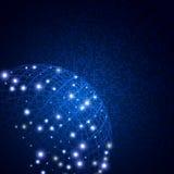 Αφηρημένο ψηφιακό υπόβαθρο τεχνολογίας με τη σφαίρα διαθέσιμη eps σχεδίου 0 8 διανυσματική έκδοση προτύπων Στοκ Εικόνα