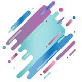 Αφηρημένο ψηφιακό χρώμα τέχνης παφλασμών Στοκ Εικόνες