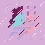 Αφηρημένο ψηφιακό χρώμα τέχνης παφλασμών Στοκ φωτογραφίες με δικαίωμα ελεύθερης χρήσης