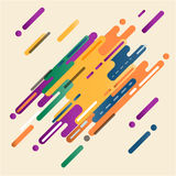 Αφηρημένο ψηφιακό χρώμα τέχνης παφλασμών Στοκ Φωτογραφία