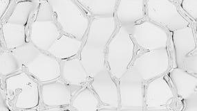 αφηρημένο ύδωρ ανασκόπησης Υπόβαθρα ταπετσαριών γραμμών σύστασης Έργο τέχνης μωσαϊκών Στοκ Εικόνες