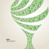 αφηρημένο δέντρο Στοκ Εικόνες