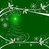 αφηρημένο διάνυσμα Χριστουγέννων ανασκόπησης Στοκ Φωτογραφία