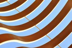 αφηρημένο curvy γραφικό πρότυπο Στοκ Εικόνα
