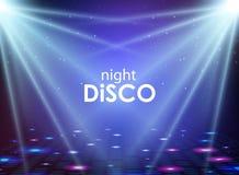 αφηρημένο disco ανασκόπησης Σύσταση σφαιρών Disco ελεύθερη απεικόνιση δικαιώματος