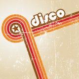 αφηρημένο disco ανασκόπησης Στοκ Εικόνα