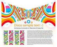 αφηρημένο disco ανασκόπησης Στοκ εικόνες με δικαίωμα ελεύθερης χρήσης