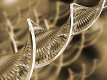 αφηρημένο DNA Στοκ Φωτογραφίες