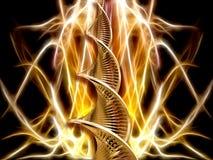 αφηρημένο DNA διανυσματική απεικόνιση