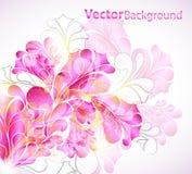 αφηρημένο floral διάνυσμα ανασκόπησης Στοκ εικόνα με δικαίωμα ελεύθερης χρήσης