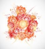 αφηρημένο floral διάνυσμα ανασκόπησης Στοκ φωτογραφίες με δικαίωμα ελεύθερης χρήσης