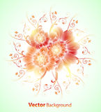 αφηρημένο floral διάνυσμα ανασ&kappa Στοκ φωτογραφίες με δικαίωμα ελεύθερης χρήσης