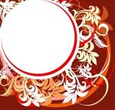 αφηρημένο floral διάνυσμα σχεδίου διανυσματική απεικόνιση