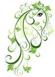 αφηρημένο floral διάνυσμα τριχώμ&alph ελεύθερη απεικόνιση δικαιώματος