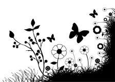 αφηρημένο floral διάνυσμα Στοκ φωτογραφία με δικαίωμα ελεύθερης χρήσης