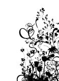 αφηρημένο floral διάνυσμα Στοκ Εικόνες