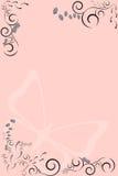 αφηρημένο floral πλαίσιο ΙΙ πρότυπο Διανυσματική απεικόνιση