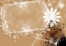 αφηρημένο floral πλαίσιο Στοκ Φωτογραφίες