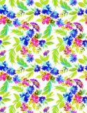 αφηρημένο floral πρότυπο άνευ ρα&ph Στοκ εικόνες με δικαίωμα ελεύθερης χρήσης