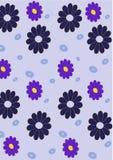 αφηρημένο floral πρότυπο αναδρο διανυσματική απεικόνιση