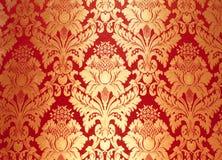 αφηρημένο floral πρότυπο υφάσματ& Στοκ Φωτογραφίες