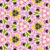 Αφηρημένο floral σχέδιο με τον κρίνο των λουλουδιών κοιλάδων Στοκ φωτογραφία με δικαίωμα ελεύθερης χρήσης