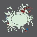 Σαλιγκάρι, floral σχέδιο Στοκ φωτογραφία με δικαίωμα ελεύθερης χρήσης