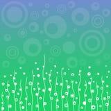 Αφηρημένο floral υπόβαθρο Στοκ εικόνες με δικαίωμα ελεύθερης χρήσης