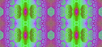 Αφηρημένο fractal άνευ ραφής σχέδιο υψηλής ανάλυσης για τους τάπητες, τους τάπητες, το ύφασμα, και τις ταπετσαρίες στα φωτεινά ζω ελεύθερη απεικόνιση δικαιώματος
