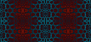 Αφηρημένο fractal άνευ ραφής σχέδιο υψηλής ανάλυσης για τους τάπητες, τους τάπητες, το ύφασμα και τις ταπετσαρίες διανυσματική απεικόνιση