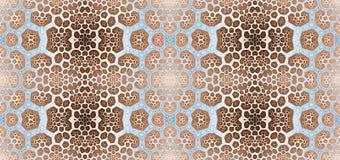Αφηρημένο fractal άνευ ραφής σχέδιο υψηλής ανάλυσης για τους τάπητες, τάπητες, ύφασμα ελεύθερη απεικόνιση δικαιώματος