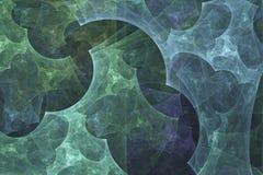 αφηρημένο fractal ανασκόπησης Αφηρημένη ζωγραφική στα χρώματα κρητιδογραφιών που αντιμετωπίζονται όπως τις εικόνες σπηλιών Κατασκ ελεύθερη απεικόνιση δικαιώματος
