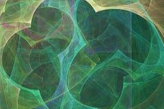 αφηρημένο fractal ανασκόπησης Αφηρημένη ζωγραφική στα χρώματα κρητιδογραφιών που αντιμετωπίζονται όπως τις εικόνες σπηλιών Κατασκ απεικόνιση αποθεμάτων